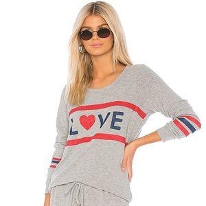 Chaser Love Sweatshirt Cutout Back Large